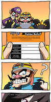 Smash Ballots - Wario by Dragonith