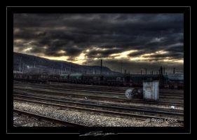Railroad HDR by Bagou01