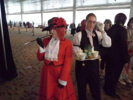 Grell and Madame Red by JoeZep5