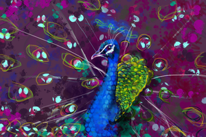 Peacock WIP by cypherx