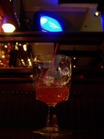 The Glass in the Bar by PatrickJoseph