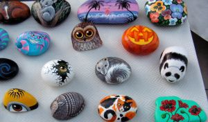 And more rocks by Nevuela