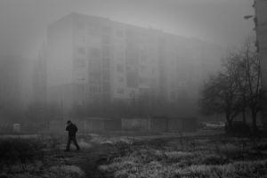 Urban Fog by ghostrider-in-ze-sky