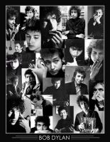 Bob Dylan Collage by DizzyEmotions