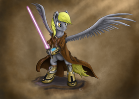 Jedi Derpy by Cryptic-Dash