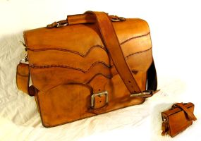 Antiqued Briefcase by Thorgaz