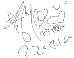 SNSD Hyoyeon Signature ~PNG~ by JaslynKpopPngs