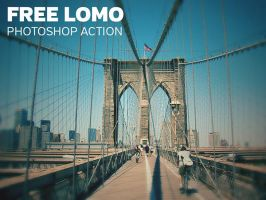 Free Photoshop Actions Lomo Action by Designslots