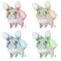 Adoptables Rabbits - Name Your Price [Closed] by Tzenor