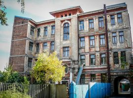 Old apartment building by saltov-man