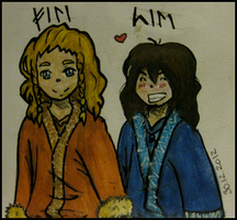 Fili and Kili as childs by Roxy-Poxy-Densetsu