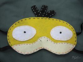 Psyduck Sleep Mask by Rekslare