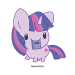 Chibi Twilight Sparkle by Daieny