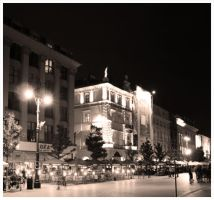 Cracow by night 11 by kazzdavore