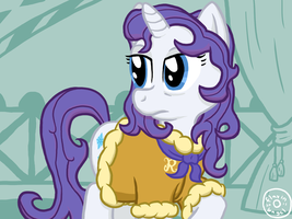 Rarity Au Naturale by FlavinBagel