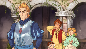 Hetalia Redraw: No waffles with Spain by SplitSoulSister