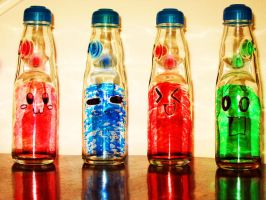 .:.Ramenade Bottles.:. by Lonely-Mitsukai