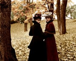 Autumn in our hearts by madamescandaleuse