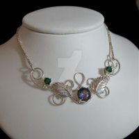 Evermore Pendant with Gemstone by camias