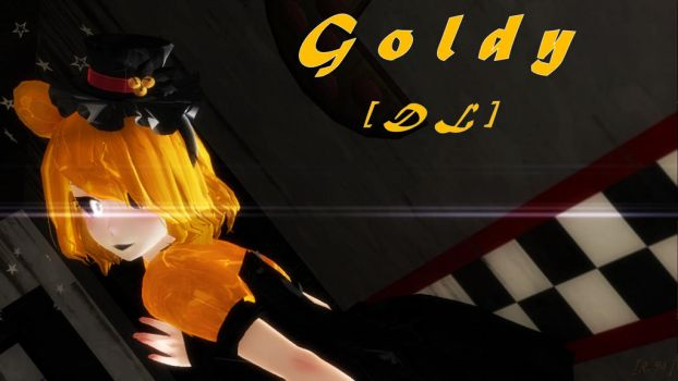 MMD// Golden Freddy Fem. by rebellion94