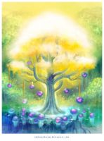magic loveberry tree by ambientdream