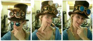 Steampunk Googles by Catskind