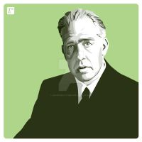 Niels Bohr by monsteroftheid