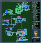 Metroid: Zero Mission - Map by Exate