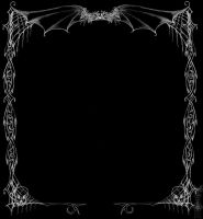 Corpse Wedding frame by redLillith