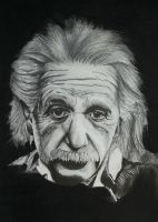 Albert Einstein by liza23q