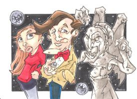 DOCTOR WHO BEHIND YOU by leagueof1