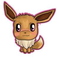 Eevee Chibi by IcyPanther1