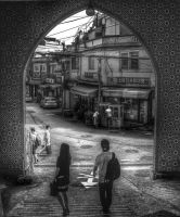Itaewon Mosque Exit, Seoul, South Korea by aboshell