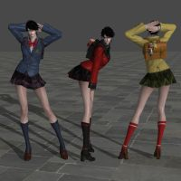 Bayonetta (School Girl Pack) UPDATE by RyuAensland