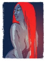 Mystique by beanclam