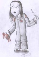 Joey Jordison From Slipknot by murderingdoll