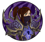 Commission - Warlock T4 by MagicalMelonBall