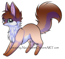 Lil fox adoptable :CLOSED: by Okami-Heart