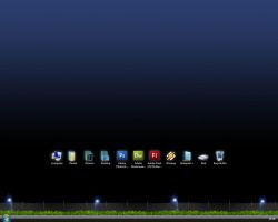 Desktop 'Lights' 31.10.2007 by delicon