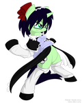 Combat Maid Simmilie by Glaive-Silver