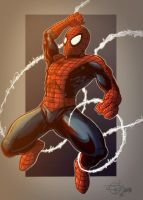 Spidey Coloring Competition by Lawnz