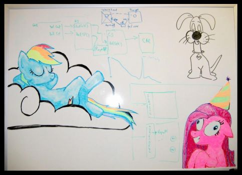 Whiteboard Doodles by Peppermint-Roo