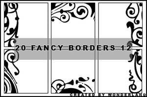 Fancy Icon Borders 12 by Foxxie-Chan