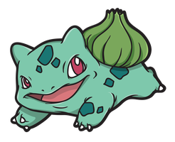 Bulbasaur by ExtremelyShane
