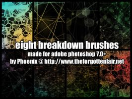 Breakdown Brushes by Red-Eclipse