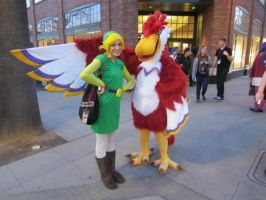 Zelda: Skyward Sword - Crimson Loftwing Cosplay by LilleahWest