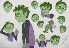 Beastboy! by LittleWheat