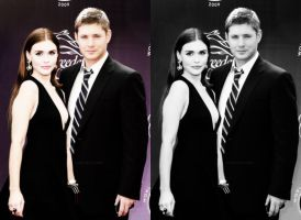 Holland Roden Jensen Ackles Manip by CansuAkn