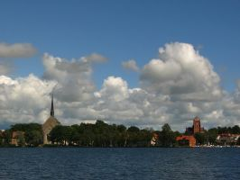 the Towers of Vadstena by Photopathica