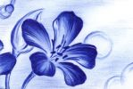 Blue Blossom 6-15-13 by Sultzaberger